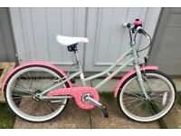 RESERVED Pendleton Hanberry Girls Bike 20 inch wheels for age 6-9 years cost £180