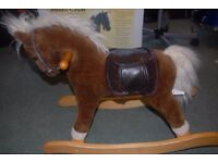 SilverCross Rocking Horse - with box and original accessories.