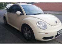 Beautiful VW Beetle Luna Private Reg