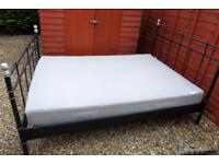 Ikea European Double Bed with Mattress