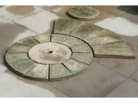 Stone paving CIRCLE