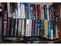 41 x Fiction Books. Mostly Crime / Thriller / Murder