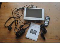 FLIPDOWN TV -VISUA 12V/240V-FREEVIEW-USB