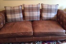 Set of 6 Furniture Village New England Medium Scatter Cushions
