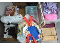Singer inspiration sewing machine and huge bundle accessories