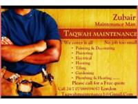 A multi trade affordable builders +maintenance service