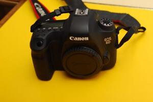 Canon 6D body with 6,154 actuations ** scratches on back LCD ***
