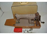 Singer Semi-Industrial 201K Sewing machine**for denim, canvas, silk, leather, calico, and the like**