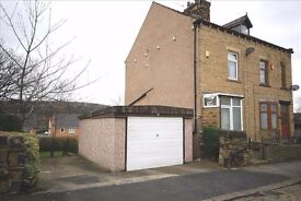 Semi detached with four bedrooms and huge garden