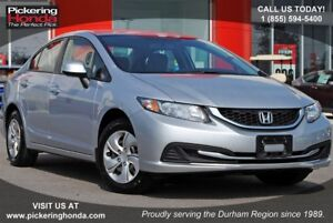 2013 Honda Civic LX | BLUETOOTH | HEATED SEATS | POWER PACKAGE