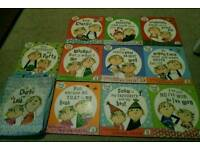 Charlie and Lola Books with Bag