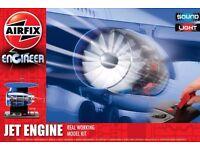 Airfix Jet Engine Real Working Model Kit - Damaged