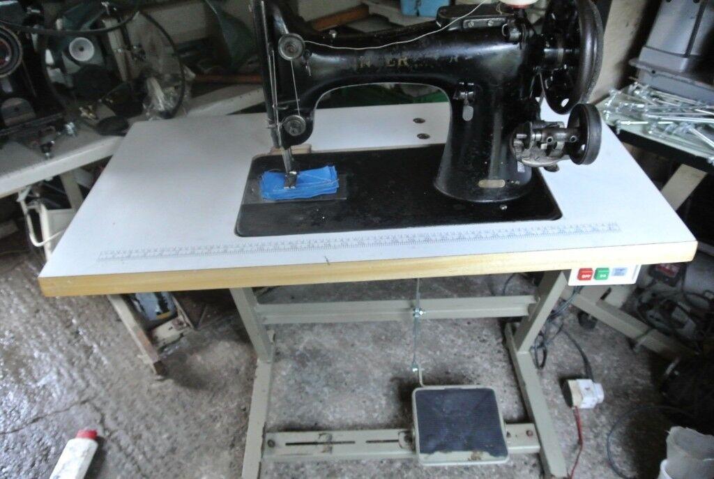 Singer 132k10 Heavy Duty Sewing Machine Horse Rugs Saddles