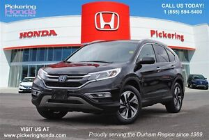 2015 Honda CR-V Touring | LEATHER | NAVI | REAR & SIDE CAMERA