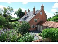 5 bedroom detached farmhouse in 1.8 acres large outbuildings & paddock on Suffolk / Norfolk border