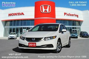2015 Honda Civic LX | BLUETOOTH | HEATED SEATS | REAR CAMERA