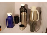 Selection of Thermos Flasks / Jug