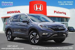 2015 Honda CR-V Touring LEATHER NAVI BLUETOOTH AWD SUNROOF