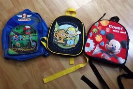 3 Kids Backpacks