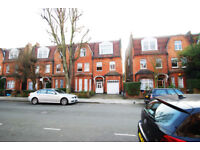 Three bedroom flat in a period building close to Sth Hampstead Stn