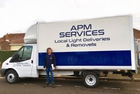 APM Services - Furniture Removals & Local Light Deliveries - Experienced & Reliable