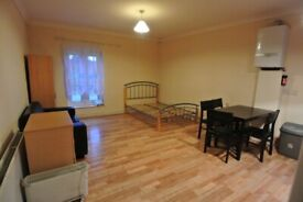 Large first floor studio to rent just 1 mins walk from Dollis Hill Station (Zone 3 - Jubilee Line)