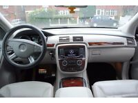 LHD LEFT HAND DRIVE MERCEDES R CLASS 320 CDI 4X4 6 SEATER 09/2006,XENON,LEATHER SEATS,SAT-NAV