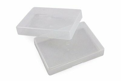 Playing Card Box (1 Dozen Clear Plastic Boxes for Regular Poker Sized Playing Cards in Tuck)