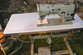 3 step Zig Zag BROTHER Industrial sewing Machine(IDEAL FOR SAILMAKING)