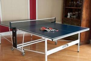 New Arrival  TWO NEW  Models of Ping Pong Tables for immediate sale, delivery, install