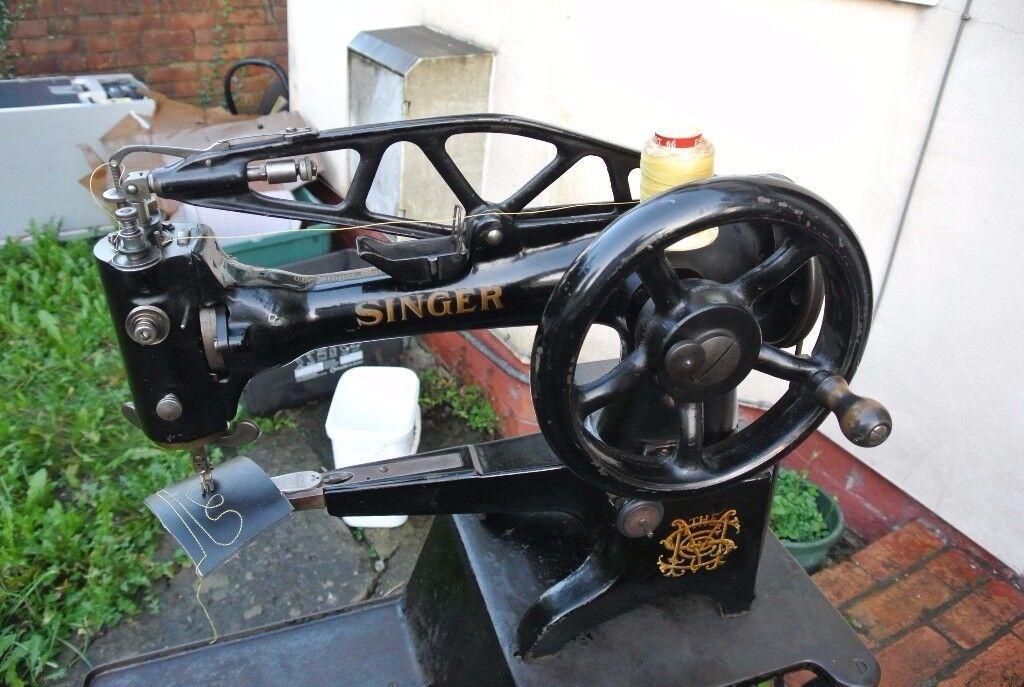 Singer 29K58 Cylinder Arm Boot Patcher/Cobbler Industrial Sewing Machine