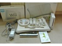 Nintendo Wii Fit Console, Balance Board and Games