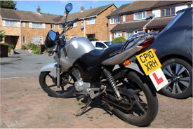 Yamaha YBR 125 - Silver - 2010 - with MOT and L-plates - Learner legal