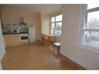 DHL118-4. First floor spacious studio across from Dollis Hill station. Rent inc gas and water bills