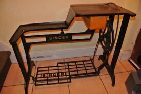 Singer 29K Long Cylinder Arm Industrial Sewing MACHINE Table/Stand