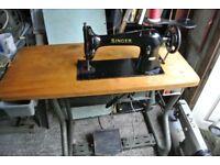 Singer Lockstitch Heavy Duty Industrial Sewing Machine SEE SAMPLE SEWN