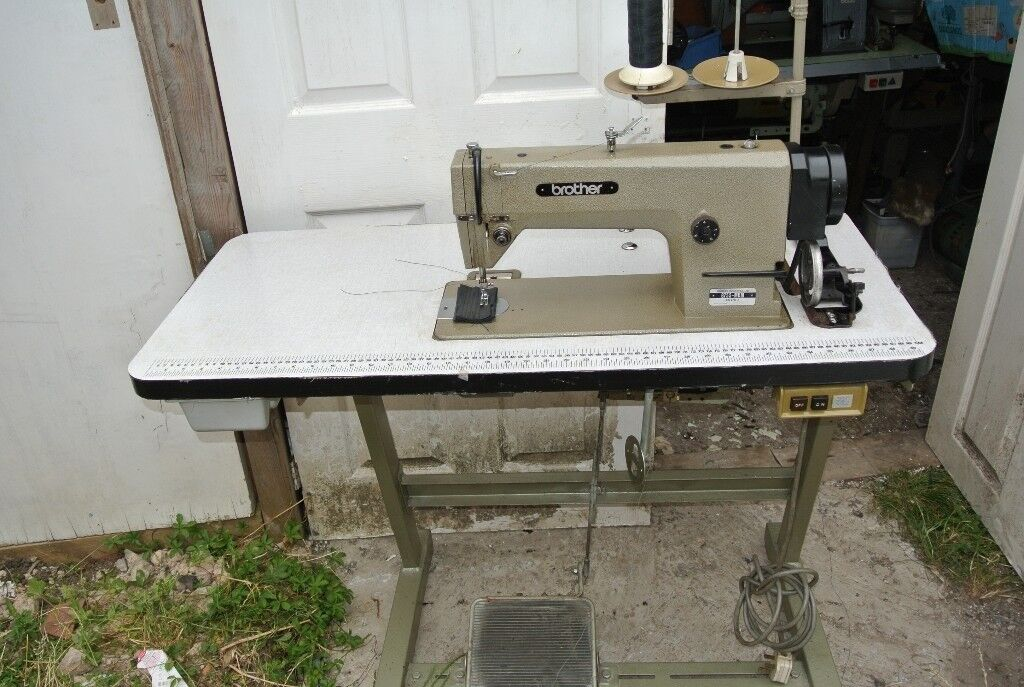 Brother MARK III Heavy Duty Sewing Machine For Horse Rugs Curtains Fascinating Denim Needle For Brother Sewing Machine
