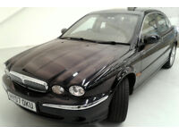 Immaculate Jaguar X-Type 2.5 Auto 07 Plate 44500 miles Metallic Black/Champagne