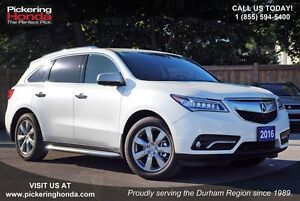 2016 Acura MDX Elite Package LEATHER NAVI AWD