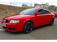 AUDI A4 1.8T (190 BHP) QUATTRO S LINE - UPGRADED ALLOYS, STUNNING CAR, VERY QUICK, NEW TIMING BELT
