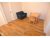 Newly refurbished second and third floor (split level) 3 bed flat above shop on Willesden High Road