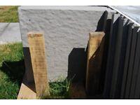 35 patio slabs 450x450 light grey plus sharp sand