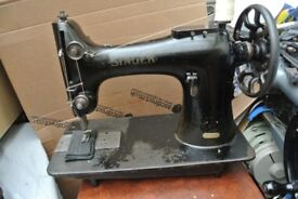 Singer 132K10 Heavy Duty Sewing Machine,-Horse Rugs(6 LAYERS LEATHER SEWN SAMPLE