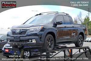 2017 Honda Ridgeline Black Edition | LEATHER | NAVI | TRUNK SPEA