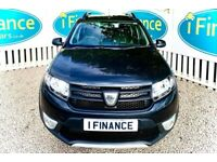 CAN'T GET CREDIT? CALL US! Dacia Sandero Stepway 1.5 dCi Ambiance, 2016 - £200 DEPOSIT, £56 PER WEEK