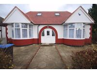 5 Bedroom Detached Bungalow - Newly Refurbished = 3 Bathrooms - Fully Furnished - Available Now