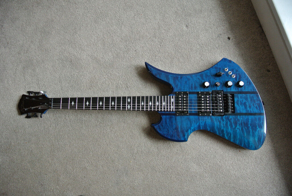 BC Rich Mockingbird ST Made in Korea (Trans Blue) | in ...