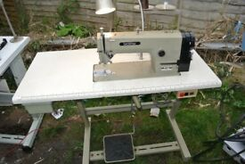 Brother Lockstitch Flatbed Sewing machine