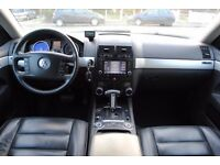 LHD LEFT HAND DRIVE VOLKSWAGEN TOUAREG 2004 4x4 , SAT-NAV, KEYLESS ENTRY, LEATHER , DVD- PLAYER,