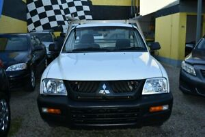 2005 Mitsubishi Triton White Cab Chassis Dandenong Greater Dandenong Preview
